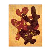 Dancing Cacti - Orange and Brown