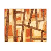 Behind the Curtains - Orange