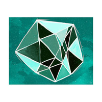 Gemstone - Monochromatic Aqua