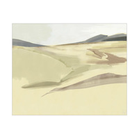Watercolor Sand Dune  - Light Green