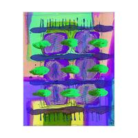 Nine Purple Petals Alpha