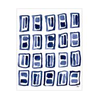 Dark Blue Rectangles