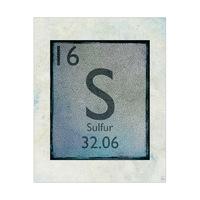Element Sulfur Cerulean