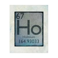 Element Holmium Cerulean