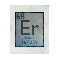 Element Erbium Cerulean