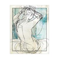 Woman on Aqua