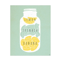 Lemon Spinach Banana Green
