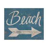 Beach Sign - Beige