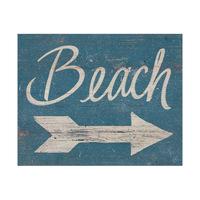 Beach Sign - Beige