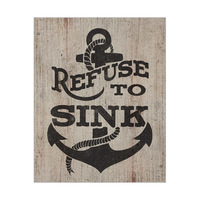 Refuse to Sink - Brown