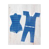 Vintage Pair Swimsuit - Stripes