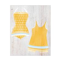 Yellow Swimsuit Set