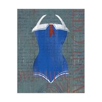 Vintage Sailor Swimsuit - Nantucket