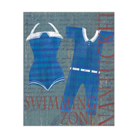 Vintage Pair Swimsuit Stripes - Nantucket