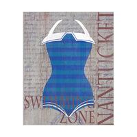 Vintage Girl Stripes - Nantucket Light