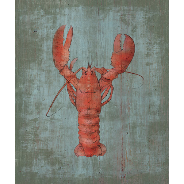 Lobster in Red Alpha