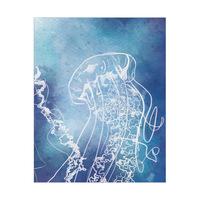 Close Up Jellyfish Alpha