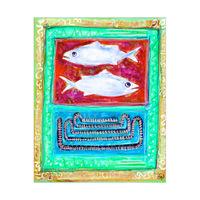 Fish Tapestry Alpha
