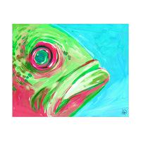 Fish Close Up Alpha