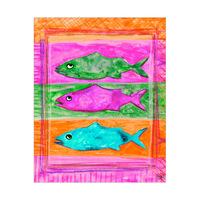 Three Colored Fish Alpha