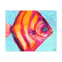 Tropical Striped Fish Alpha