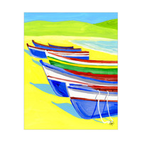 Colorful Boats