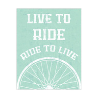 Ride to Live - Turquoise