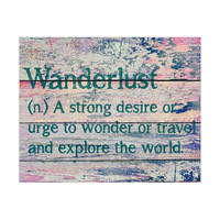 Wanderlust Definition - Teal