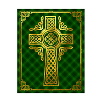 Celtic Cross Over Plaid