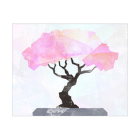 Bonsai Tree Pink - Cutout