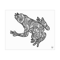 Frog Shape Alpha