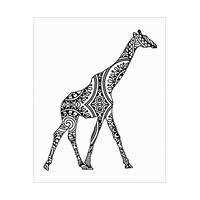 Giraffe Shape Alpha