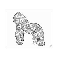 Gorilla Shape Alpha