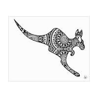 Kangaroo Shape Alpha