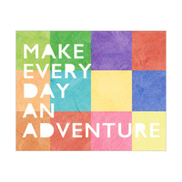 Adventure Color Squares Warm