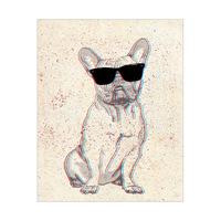 3D French Bull Dog