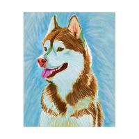 Painted Husky