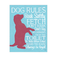 Dog Rules - Red