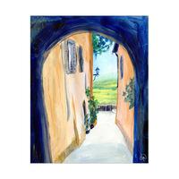 Narrow Alley Italy Alpha