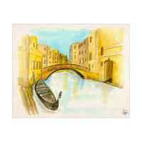 Gondola In Venice Alpha