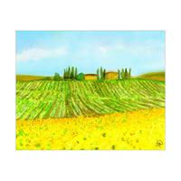 Wine And Sunflowers Alpha
