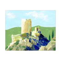 Cathar Castle France Alpha