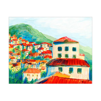 Italian Mountain Town Alpha