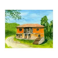 Worn Down Barn Serbia Alpha