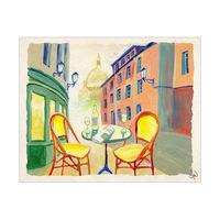 Terrace In Paris Alpha