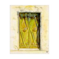 Old Wooden Door Paris Alpha