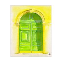 Arched Door Paris Alpha