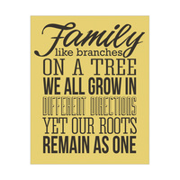 Family Roots - Yellow