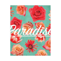 Red Paradise Flowers