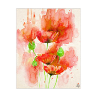 Red Poppies Alpha